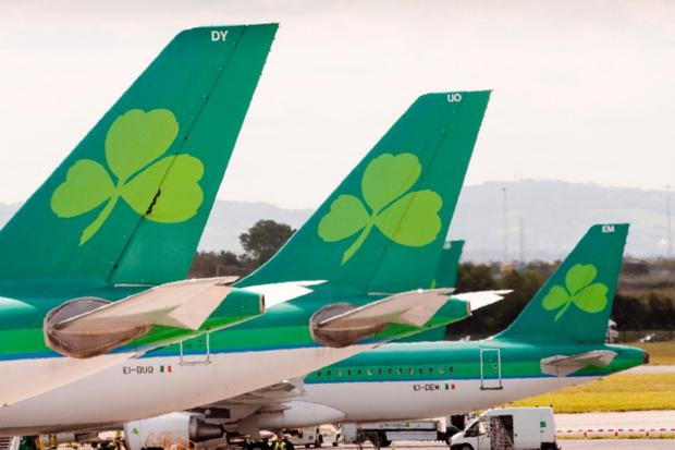Aer Lingus captains had turned down €5,000 in extra pay — as well as 10 days' extra holidays — to captain flights to the US on their day off. Stock picture