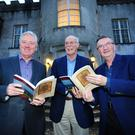 Pat Kenny, Eamon O' Daly and Aidan J Herron at the launch of book 'Ardgillan Castle Revealed' by Aidan J Herron and Eamon O'Daly at Ardgillan Castle. Pic by Fintan Clarke