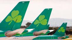 'The airline has agreed to make a donation of €25,000 to charity on behalf of staff after a meeting with its group of unions' (stock photo)