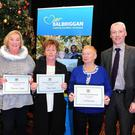 Tidy Towns Award Winners Fancourt Heights, St Paul's Crescent, Tara Court and Lambecher at the Balbriggan Town Awards