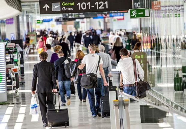 'This year, Dublin Airport is expecting its busiest Christmas ever, with 1.1 million people passing through departures and arrivals, 100,000 of whom will come from far-flung places to spend Christmas at home'