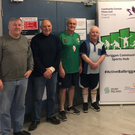 Participants of the 2018 Walking Football initiative in Balbriggan