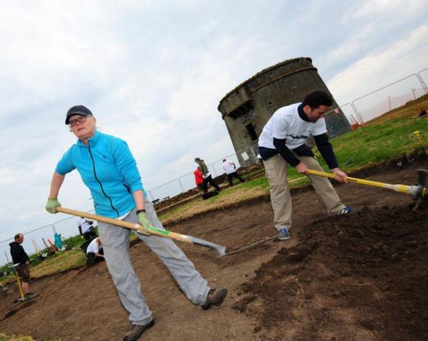 A community archaeological dig at one of Fingal's most important heritage sites at Drumanagh in Loughshinny