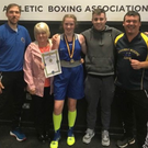 Swords Boxing Club is one of the beneficiaries of the Tesco Community Fund to help it discover more champions like last year's Leinster title winning star, Molly Bennett pictured here with her family and coaches from the local club