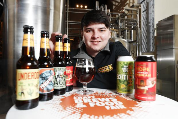 Fingal company, Hope Beer exhibits at the Alltech Craft Brew and Beer and Food Exhibition
