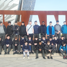 Coláiste Choilm visit to Titanic Quarter in Belfast