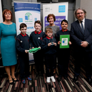 Hedgestown pupils receive their water-themed Green Flag