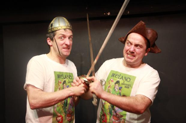 High Rock Productions from Portmarnock have a comedy hit in the city