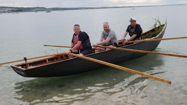 The crew of the Skerries Currach