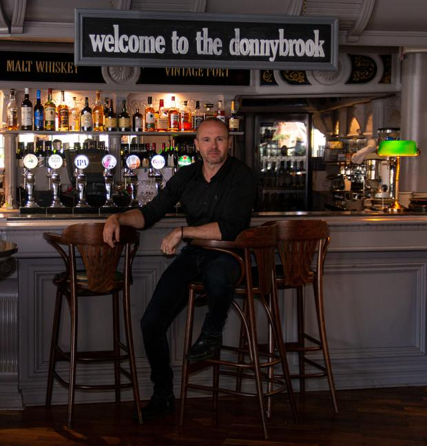 Oliver Dunne at his new venture, The Donnybrook
