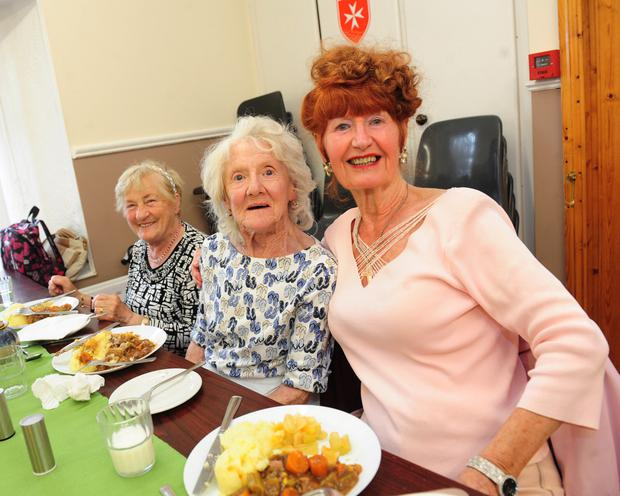 Helen Walsh, May Roy and Rachel Jones at Balbriggan Meals on Wheels