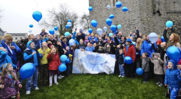 Swords charity,Snowflakes, seen here celebrating Autism Day, will benefit from the Lions Club event