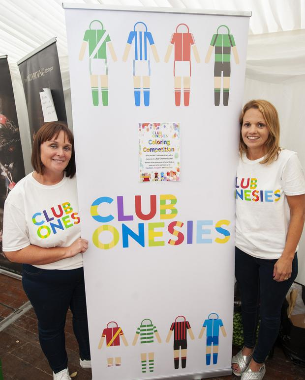 The women behind Club Onseies, Marian Pike and Selena Carthy. (pic by Fintan Clarke)