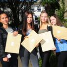 Vicky Kowalkiewicz, Jenifer Jones, Leah Daly and Courtney Keogh at St Finian's Community College