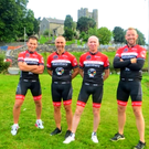 The team from Velo Club Balrothery taking on the Race Around Ireland