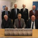 The local cricket fraternity gather to celebrate 100 years of Leinster Cricket