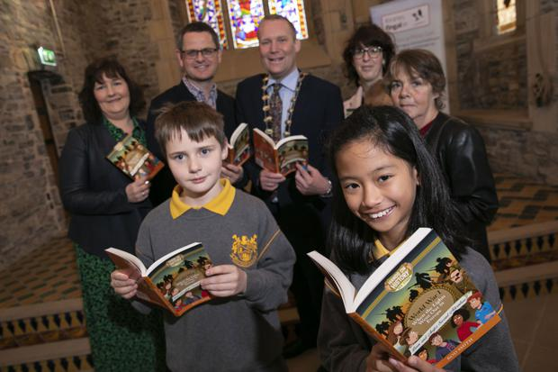 The launch of the Battle of the Book at Swords Castle