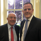 Minister Michael Ring with Alan Farrell TD