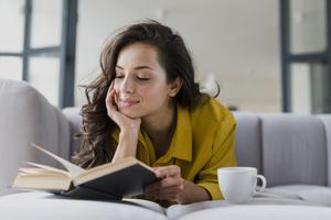 Get engrossed in a good book