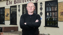 Brendan McCormack at the Balrothery Inn. (pic by Fintan Clarke)