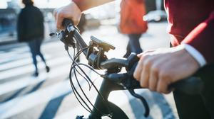 """Fr Michael Commane: """"It was Covid that caused me to develop my new street policy. These days I'm saying hello to far more pedestrians and cyclists than I ever did before."""" Stock image"""