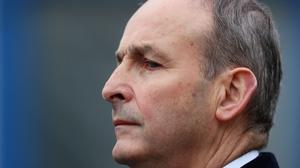 """""""Taoiseach Micheál Martin and his cabinet have been playing their cards very close to their chest."""" (Brian Lawless/PA)"""