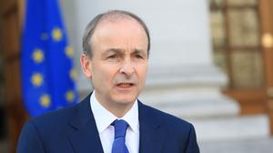 'There is a very real chance that, as Micheál Martin (above) and his cabinet have promised, much of the country will indeed have received at least a first shot of the vaccine by mid summer.' (Julien Behal Photography / PA)