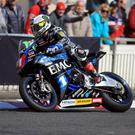 John McGuinness in action at the recent North West 200. Photo Jack Corry