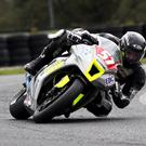 Cody Nally in full flight at Mondello Park. Photo by Jack Corry