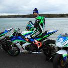 Micko Sweeney has three bikes to campaign the 2017 road race season on. Photo Jack Corry