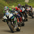 It was a cracking first 600 race as Micko Sweeney led the quartet, but it was Derek McGee who took the race win