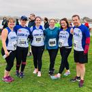 Lusk AC's representatives at last weekend's Joe Duffy Clontarf five-mile race.