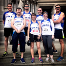 Some of the Lusk AC contingent who competed in last weekend's Drogheda 10K