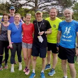 Lusk AC members at the Donabate parkrun on Saturday