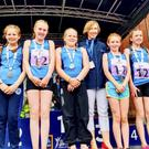 The Lusk AC Under-12 relay team who finished fourth at the National Community Games Finals