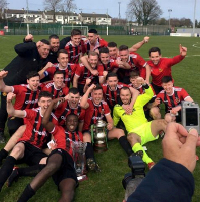 Malahide United have Leinster Senior League Senior Sunday glory in their sights after winning the Charlie Cahill Cup last season