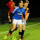 Action from the Portmarnock Late-Night League