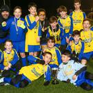 Kinsealy Boys celebrate their victory in the Keelings Cup Final