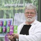 Michael Reynolds of Cushenstown, Co.Wexford with his products