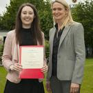 Lisa Cosgrave from Gorey came first in the Association of Certified Chartered Accountants P7 exam