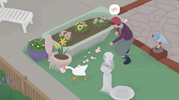 The objectives presented in Untitled Goose Game are quite loose and sometimes a little cryptic, but there's nothing truly difficult about the game