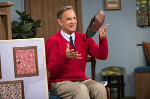 Tom Hanks as Fred Rogers in A Beautiful Day In The Neighborhood