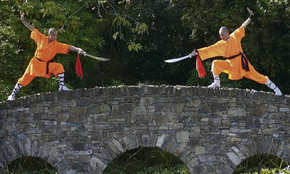 Shaolin Masters Xu will be at Monart Destinion Spa.