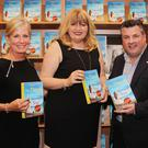 At the launch in the Book Centre: Tracy Brennan, Carmel Harrington, Cllr George Lawlor and publisher, Tony Pardue