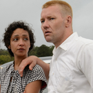 Ruth Negga as Mildred Loving and Joel Edgerton as Richard Loving in Loving