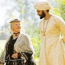 Judy Dench Queen Victoria and Ali Fazal as Abdul Karim in Victoria & Abdul