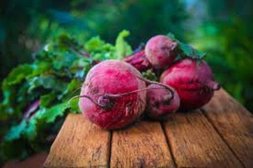 Beetroots are a rich source of potassium which is important for healthy nerve and muscle function, and immune boosting Vitamin C. They also contain magnesium, vitamins A, B6, and folic acid