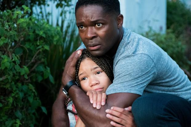 David Oyelowo as Jack Radcliff and Storm Reid as Ashley Radcliff in Don't Let Go