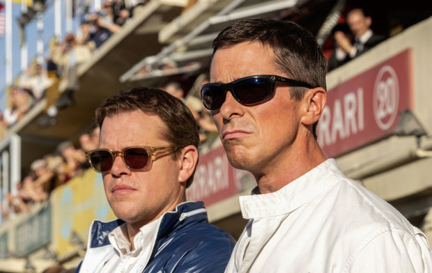 Matt Damon and Christian Bale fire on all cylinders as Carroll Shelby and Ken Miles respectively in Le Mans '66