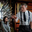 Daniel Craig as Benoit Blanc and Ana de Armas as Marta Cabrera in Knives Out